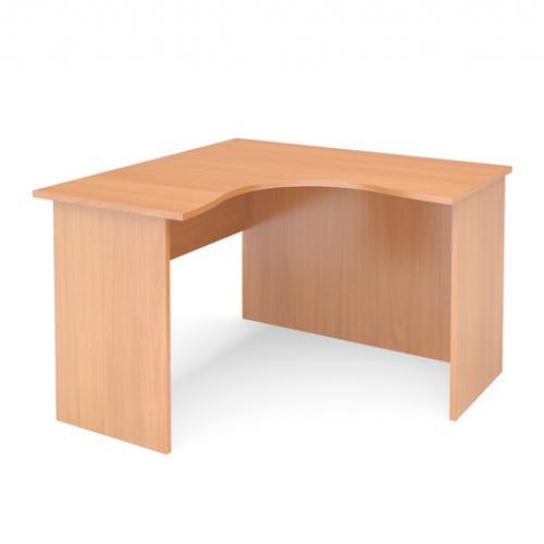 Стол угловой правый ФАКТОР 1390*1200/600*750 (бук)