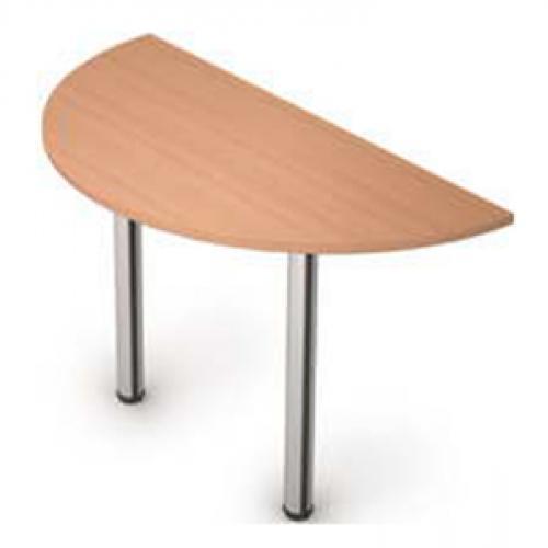 Столешница приставная на 2 стола 610*1204*22 (без опоры) ФАКТОР (бук)