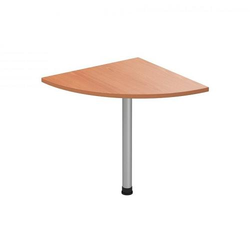 Соединительный элемент столешницы стола 600*600*22 (без опоры) ФАКТОР (бук)